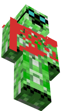 creeper with goggles
