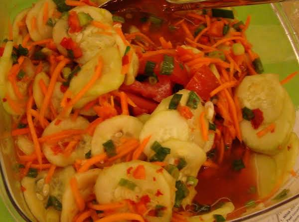 Cucumber Carrot Salad Recipe