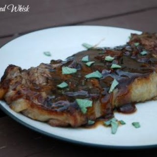 Whiskey Bacon Steak Glaze
