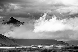 Photo: 3 more in the B&W Iceland series. Such dramatic light here on this island.