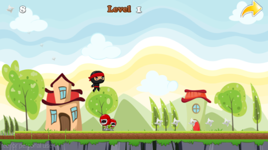 Ninja Jump Running screenshot 9