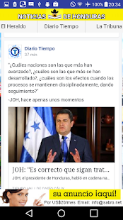 Noticias de Honduras HN News- screenshot thumbnail