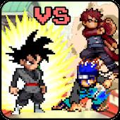Tải Game Super Black Goku vs Ninja Crush