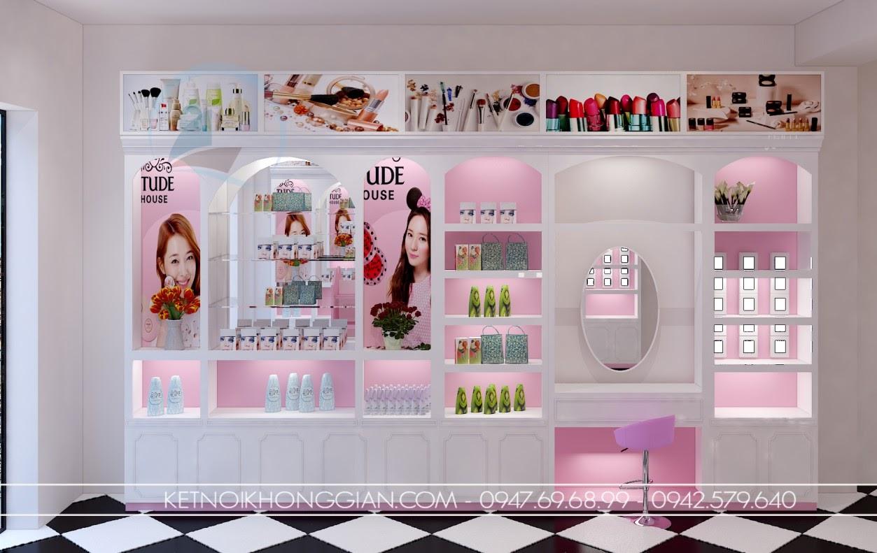 thiết kế shop mỹ phẩm cao cấp 5