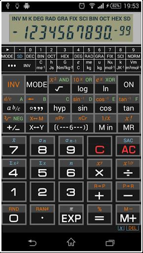 Scientific Calculator 995 by C20 Studio (Google Play, United