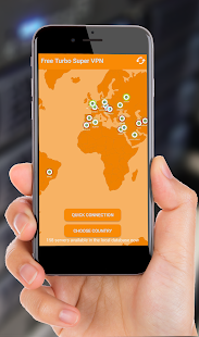 Free Turbo Super VPN - Multi-location Ultra VPN - náhled