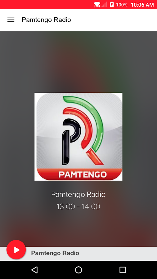 Pamtengo Radio- screenshot