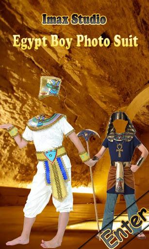 Egypt Boy Photo Suit