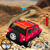 Real Prado Jeep: Uphill Driving Adventure 3D