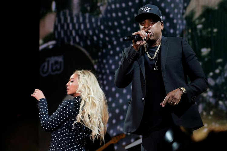 Beyonce and Jay-Z perform at a concert in Cleveland, the US, in November 2016. Picture: REUTERS/BRIAN SNYDER