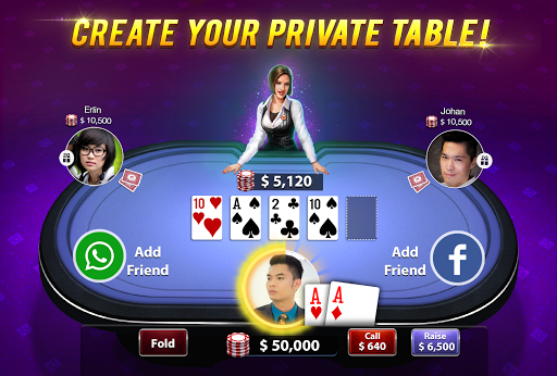 MF Texas Poker - Texas Hold'em 3.20 Mod screenshots 3