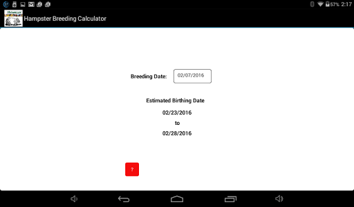 Download Hamster Breeding Calculator APK latest version app