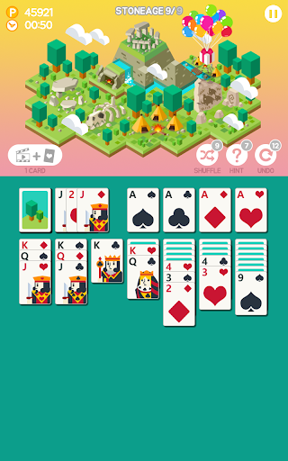 Age of solitaire - Free Card Game - screenshot