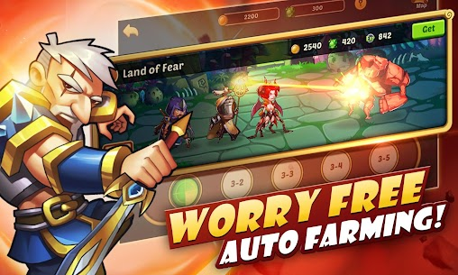 Idle Heroes MOD Apk 1.11.0 (Unlimited Gems) 4