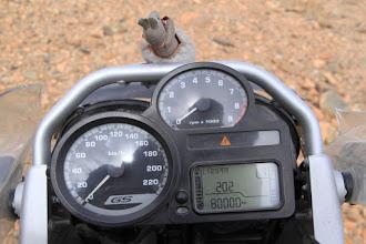 Photo: Woa-hoo!! 80,000kms around the world.