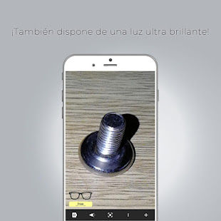 App Lupaleer, your magnifying glass + torch included APK for Windows Phone