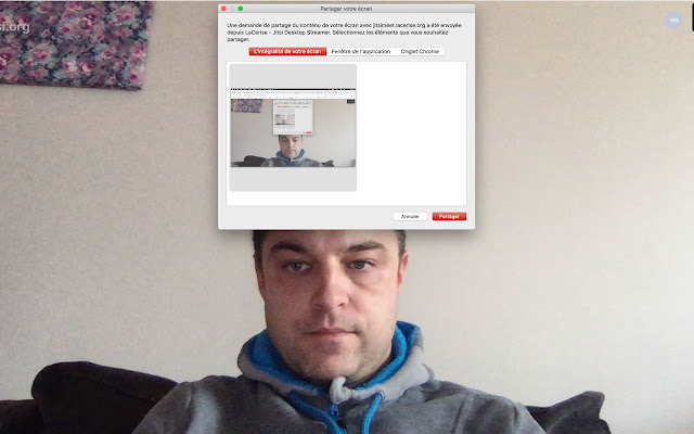 LaCerise - Jitsi Desktop Streamer