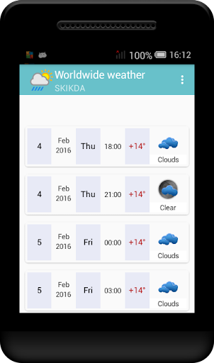 Worldwide weather Apk apps 1