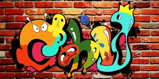 可愛的塗鴉主題(彩色塗鴉/可愛塗鴉)|玩漫畫App免費|玩APPs