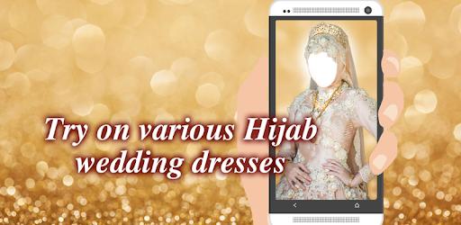 Приложения в Google Play – Hijab <b>Wedding</b> Dress Montage