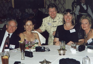 Photo: Bob Nida, Nancy (Seiler) McCarthy, Mary (Traud) Austin, Sandy (Anderson) Mathis, Suzy (Wright) Thomas