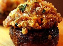 Sausage Stuffed Mushrooms Recipe