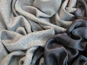 Photo: Ткань: атлас нат. шелк, ш. 140 см., цена 4000р. Ткань: нат кашемир. шелк, ш. 150 см., цена 9000р.