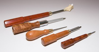 Photo: Michael Blake tool handles [various woods]