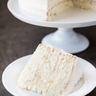 The Most Amazing White Cake.