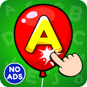 ABC Pop the Balloon Game for Kids & Preschoolers