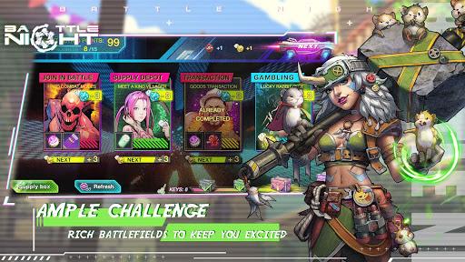 Battle Night: Cyber Squad-Idle RPG  screenshots 4