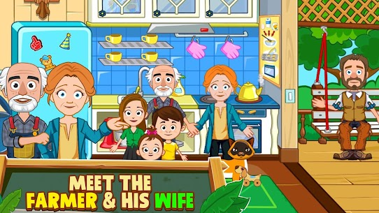 My Town: Farm Life Animals Game MOD APK [All Unlocked] 8