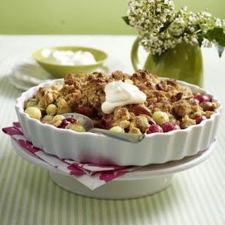 Stachelbeer-Crumble