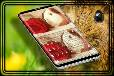Hamster Keyboard Theme pro - náhled