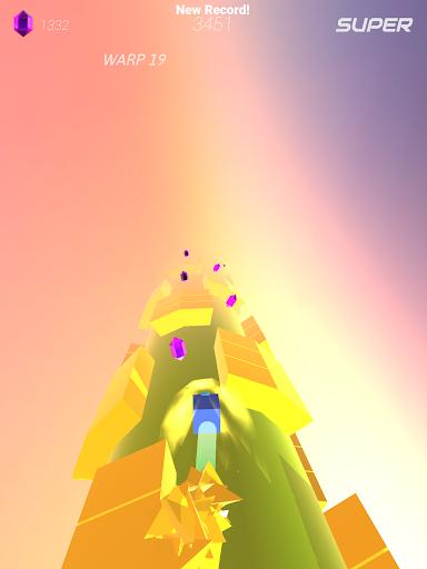 Warp and Roll - running flight action game 1.1.7 screenshots 11
