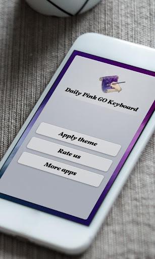 個人化必備免費app推薦|デイリーピンクDeirīpinku GO Keyboard線上免付費app下載|3C達人阿輝的APP