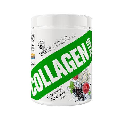Swedish Supplements Collagen Vital 400g - Fläder/Hallon