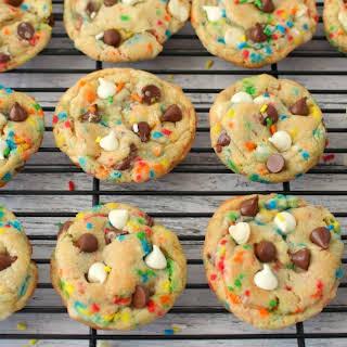 Funfetti Chocolate Chip Cookies.