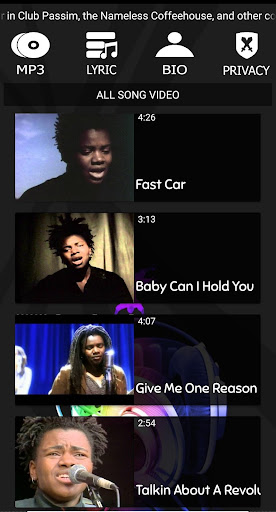 download lagu tracy chapman give me one reason