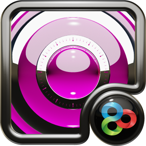 Pink S GO Launcher Theme