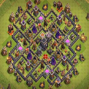 Town hall 9 base layout android apps on google play sciox Choice Image
