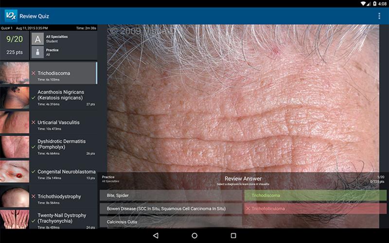 VisualDx- screenshot