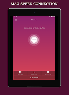 MaxVPN – Free Fast Connect & Unlimited VPN client App Download For Android 9