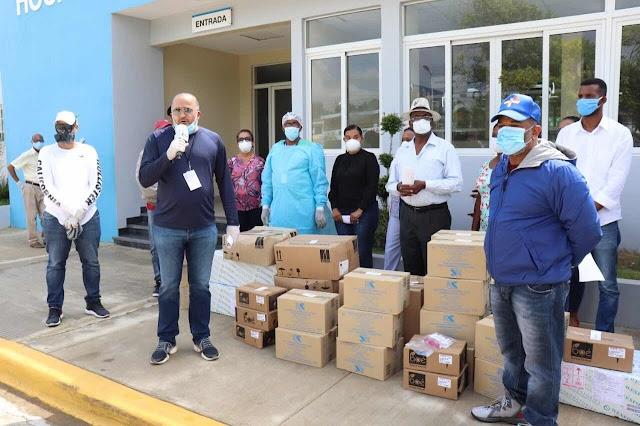 Empresario Alexis Victoria y Grupo Victoria Yeb donan RD$10 millones a entidades de Nagua para mitigar impacto del coronavirus