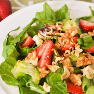 Strawberry Noodle Salad.