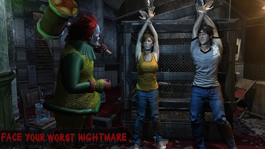 Horror Clown Survival Mod Apk 1.36 (Monster Does Not Automatically Attack) 1