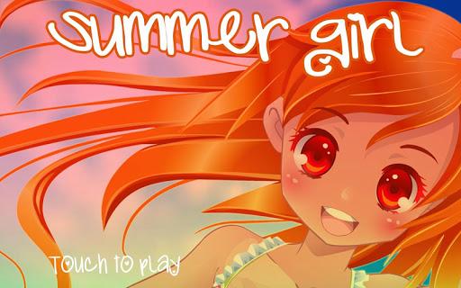 Summer girl Anime dress up