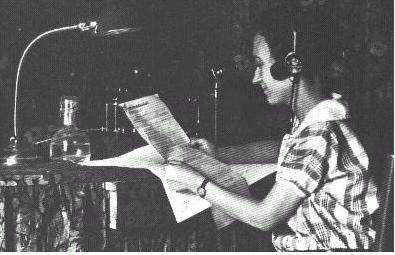María Sabater primera locutora de radio