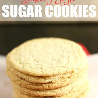 Bakery Style Sugar Cookies.