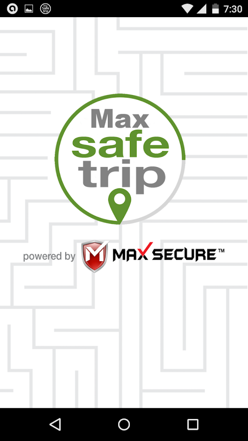 Max Safe Trip- screenshot
